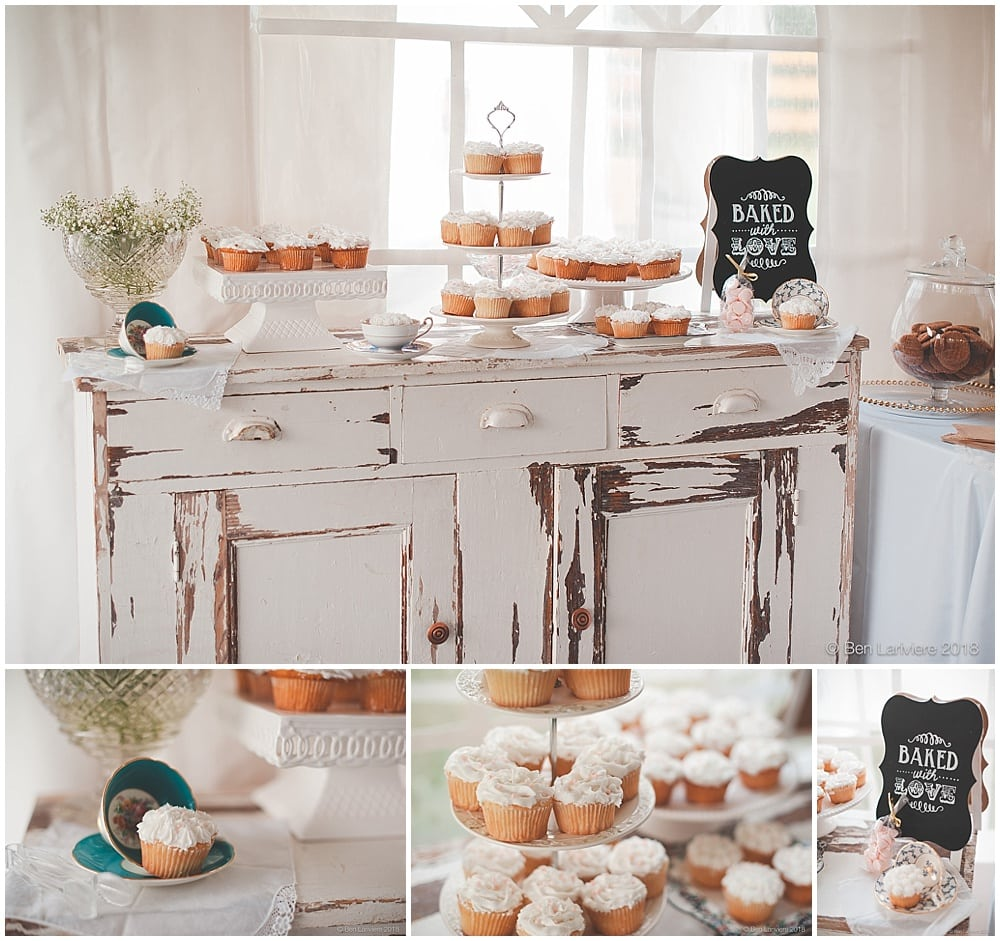 wedding reception details cupcake table detail photos