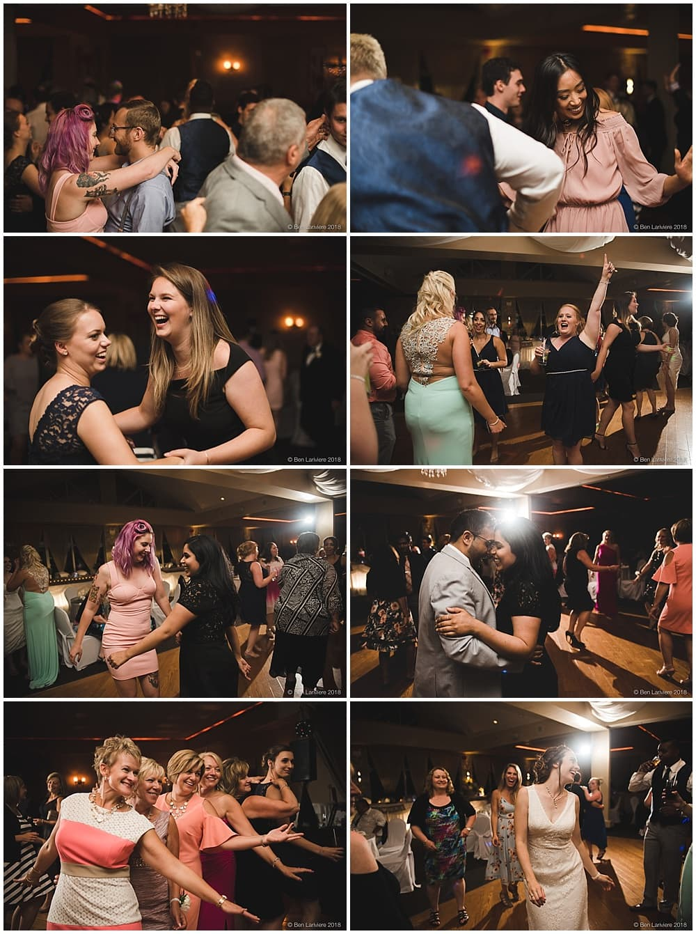 marissa & daniel's dance floor wedding reception