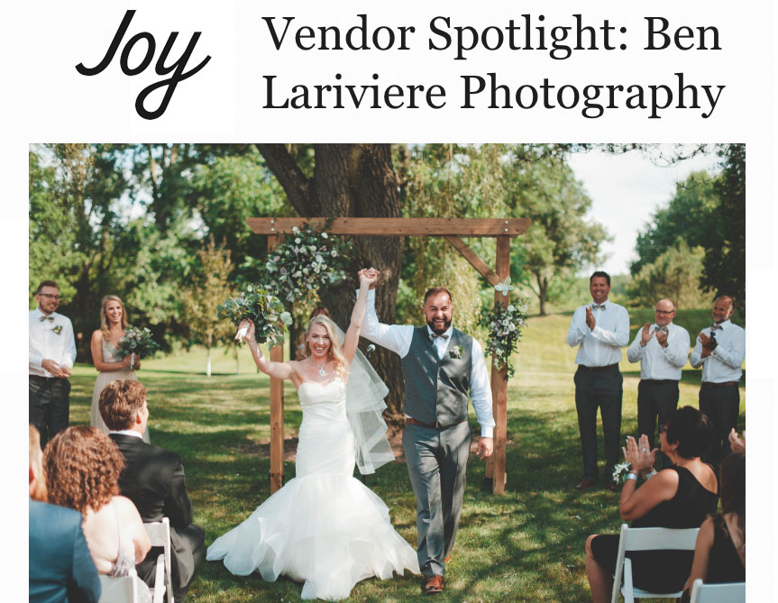 Joy App Interview with Ben Lariviere Photography