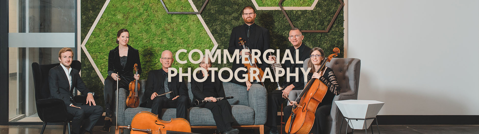 Kitchener-Waterloo Symphony Orchestra Commercial Photography by Ben Lariviere
